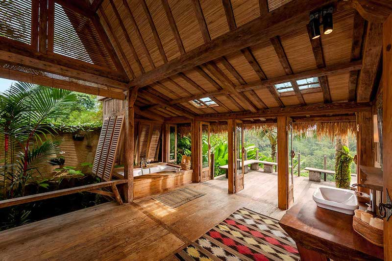 Traditional Balinese Architecture As Seen In Today S Bali Luxury Villas